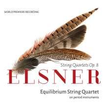 Josef Elsner (1769-1854): Streichquartette op.8 Nr.1-3, CD