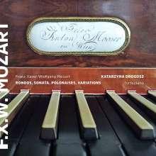 Franz Xaver Mozart (1791-1844): Klavierwerke, CD