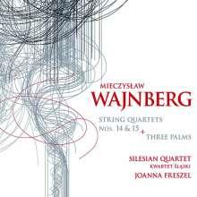 Mieczyslaw Weinberg (1919-1996): Streichquartette Nr.14 & 15, CD