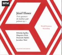 Josef Elsner (1769-1854): Streichquartette op.1 Nr.1-3, CD