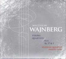 Mieczyslaw Weinberg (1919-1996): Streichquartette Nr.1,16,17, CD