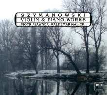 Karol Szymanowski (1882-1937): Sonate f.Violine & Klavier op.9, CD