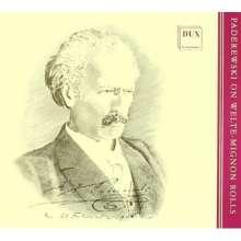 Welte-Mignon - Paderewski, 2 CDs