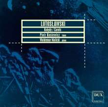 Witold Lutoslawski (1913-1994): 20 Polnische Weihnachstlieder, CD