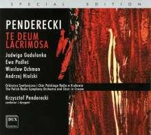 Krzysztof Penderecki (1933-2020): Te Deum, CD