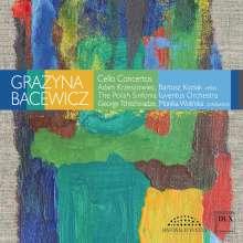 Grazyna Bacewicz (1909-1969): Cellokonzerte Nr.1 & 2, CD