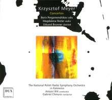 Krzysztof Meyer (geb. 1943): Cellokonzert Nr.2, CD