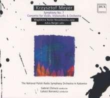 "Krzysztof Meyer (geb. 1943): Symphonie Nr.7 ""Sinfonia del Tempo che passa"", CD"