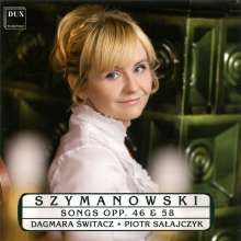Karol Szymanowski (1882-1937): Klavierlieder, CD