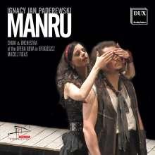 Ignaz Paderewski (1860-1941): Manru (Oper), 2 CDs