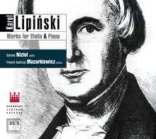 Karol Lipinski (1790-1861): Kammermusik für Violine & Klavier, CD