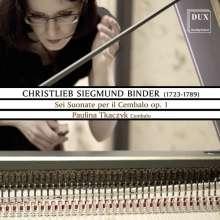 Christlieb Sigmund Binder (1723-1789): Cembalosonaten op.1 Nr. 1-6 (Dresden 1759), 2 CDs