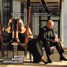 Clarigotto Duo - Stücke für Klarinette, Fagott & Klavier, CD