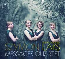 Simon Laks (1901-1983): Streichquartette Nr.3-5, CD