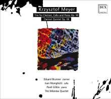 Krzysztof Meyer (geb. 1943): Klarinettenquintett op.66, CD