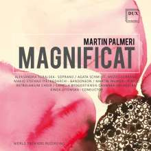 Martin Palmeri (geb. 1965): Magnificat, CD