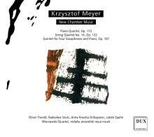 Krzysztof Meyer (geb. 1943): Kammermusik, CD