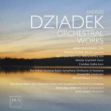 Andrzej Dziadek (geb. 1957): Orchesterwerke, CD