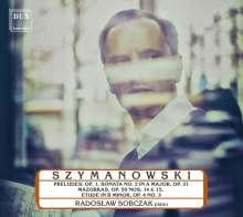 Karol Szymanowski (1882-1937): Preludes op.1 Nr.1-9, CD