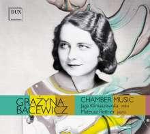 Grazyna Bacewicz (1909-1969): Sonaten für Violine & Klavier Nr.3-5, CD