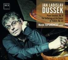 Johann Ludwig Dussek (1760-1812): Klaviersonaten op.9 Nr.1-3, CD