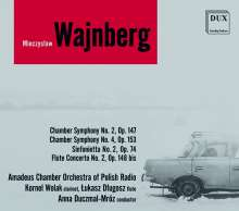 Mieczyslaw Weinberg (1919-1996): Kammersymphonien Nr.2 & 4, 2 CDs
