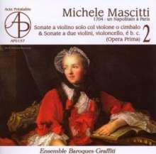 Michele Mascitti (1664-1760): Sonate da Camera Nr.6 & 11, CD