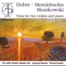Hans Huber (1852-1921): Sonate für 2 Violinen & Klavier op.135, CD