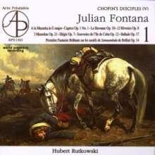 Julian Fontana (1810-1869): Klavierwerke, CD