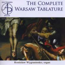 The Complete Warsaw Tablature, CD