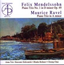 Felix Mendelssohn Bartholdy (1809-1847): Klaviertrio Nr.1, CD