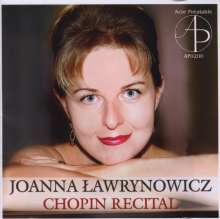 Joanna Lawrynowicz - Chopin Recital, CD
