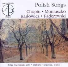 Olga Maroszek - Polish Songs, CD