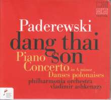 Ignaz Paderewski (1860-1941): Klavierkonzert a-moll op.17, CD
