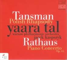 Karol Rathaus (1895-1954): Klavierkonzert op.45, CD