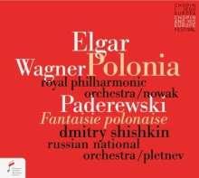 Ignaz Paderewski (1860-1941): Polnische Fantasie für Klavier & Orchester op.19, CD
