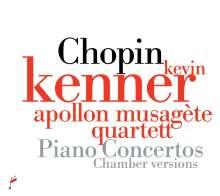 Frederic Chopin (1810-1849): Klavierkonzerte Nr.1 & 2 für Klavier & Streichquintett, CD
