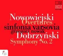 """Ignacy Feliks Dobrzynski (1807-1867): Symphonie Nr.2 op.15 """"Characteristic"""", CD"""