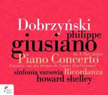 Ignacy Feliks Dobrzynski (1807-1867): Klavierkonzert As-Dur op.2, CD