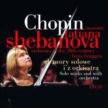 Frederic Chopin (1810-1849): Sämtliche Klavierwerke, 14 CDs