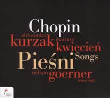 Frederic Chopin (1810-1849): 19 Lieder op.74, CD