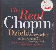 """Frederic Chopin (1810-1849): Sämtliche Klavierwerke """"The Real Chopin"""", 21 CDs"""