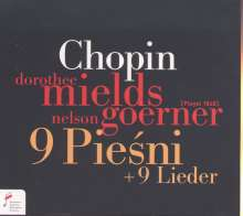 Frederic Chopin (1810-1849): 9 Lieder, CD