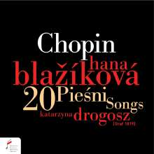 Frederic Chopin (1810-1849): 17 Lieder op.74, CD