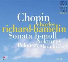 Frederic Chopin (1810-1849): Klaviersonate Nr.3 op.58, 2 CDs
