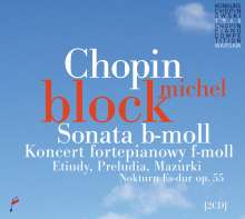 Frederic Chopin (1810-1849): Klavierkonzert Nr.2, 2 CDs