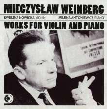 Mieczyslaw Weinberg (1919-1996): Concertino op.42 für Violine & Klavier, CD