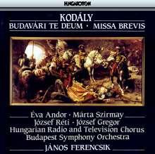 Zoltan Kodaly (1882-1967): Missa Brevis, CD