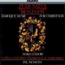 Baroque Christmas Music - Puer natus, CD
