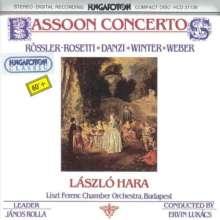Laszlo Hara spielt Fagottkonzerte, CD